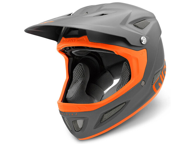 Giro Disciple Mips Fullface Helmet mat titan/flame